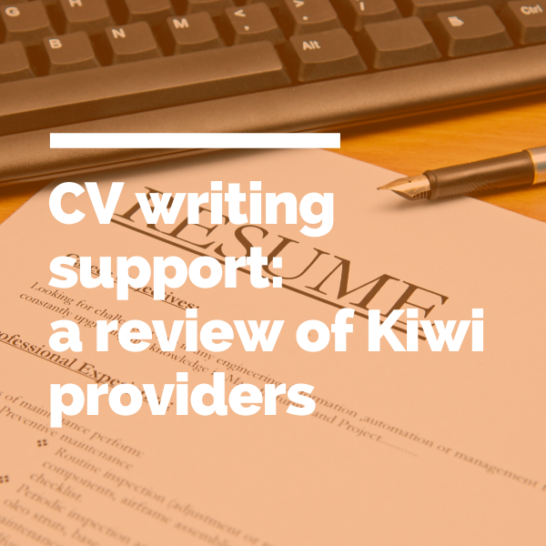 CV writing support