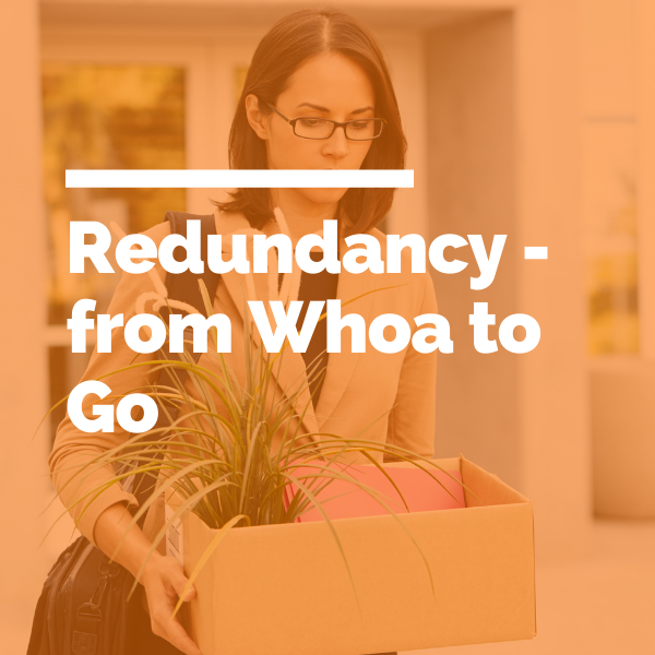 Redundancy - from whoa to go featured image