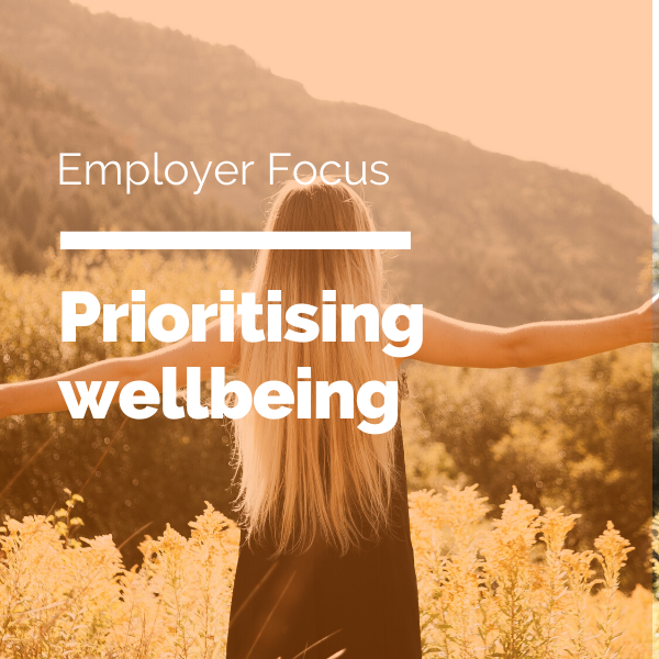 Prioritising wellbeing Blog feature