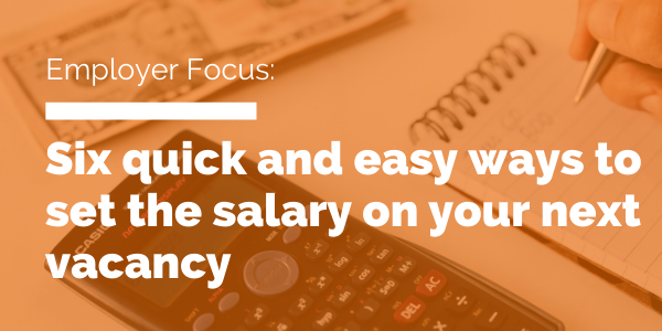 set the salary on your next vacancy blog header