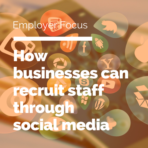 social media recruiting Blog feature