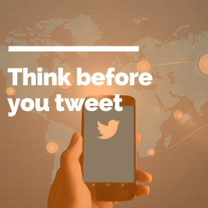 Think before you tweet featured image