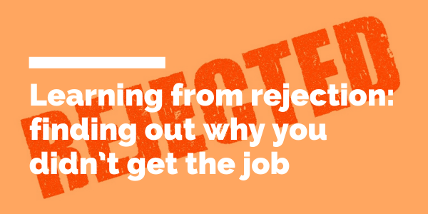 Learning from rejection blog header