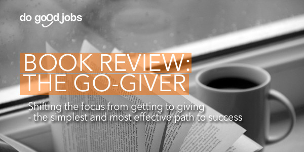 The Go Giver - Book Review - loans