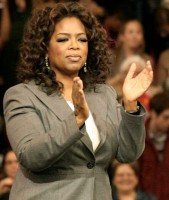 Oprah Winfrey, queen of an empire.