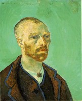 Vincent Van Gogh, self-portrait, dedicated to Paul Gauguin