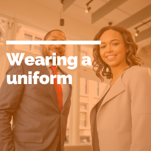 wearing a uniform featured image
