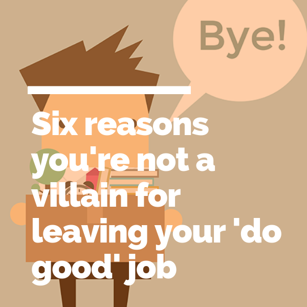 Six reasons you're not a villain for leaving your 'do