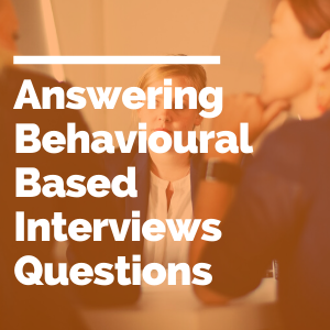 Answering Behavioural Based Interviews Questions featured image