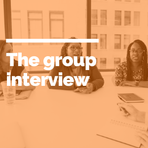 The group interview feature image