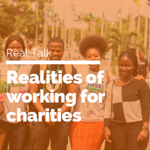 Realities of working for charities feature image