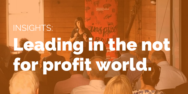Leading in the non profit world