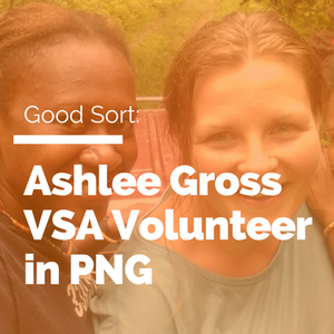 Ashlee Gross overseas volunteering VSA