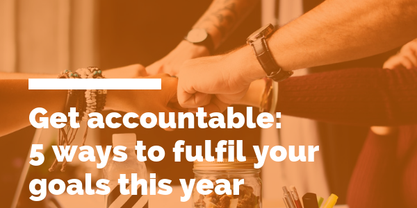 new year goals get accountable