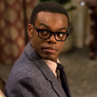 Chidi from The Good Place.