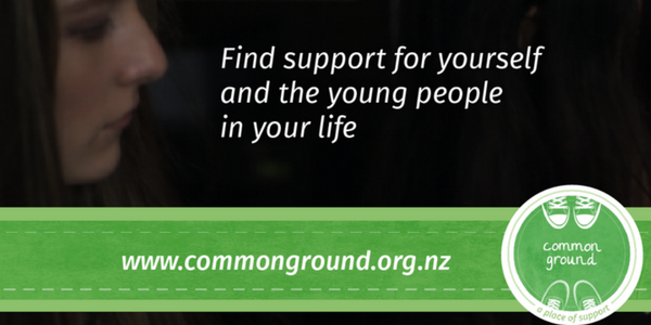 Common Ground. Find support for yourself and the young people in your life.