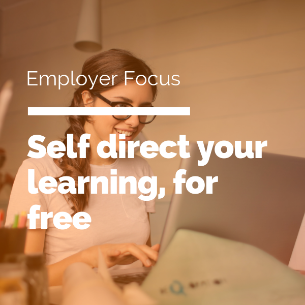 Self-direct your learning to advance YOUR career, for free - Do Good