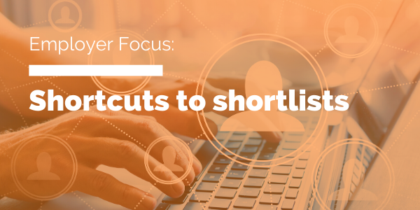 Shortcuts to shortlists