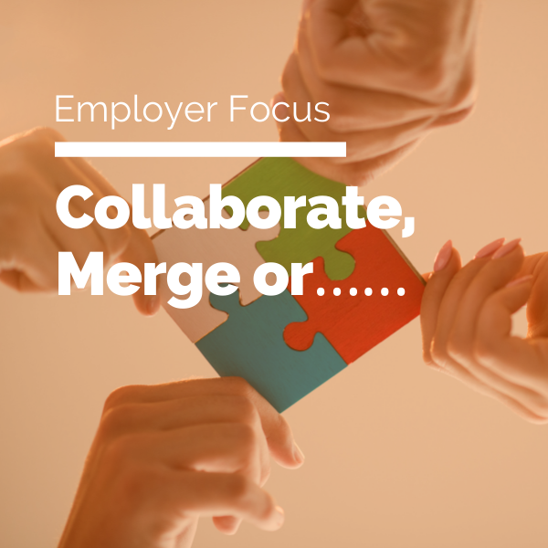 Collaborate, Merge or……featured image