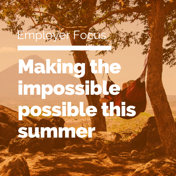 Making the impossible possible this summer featured image