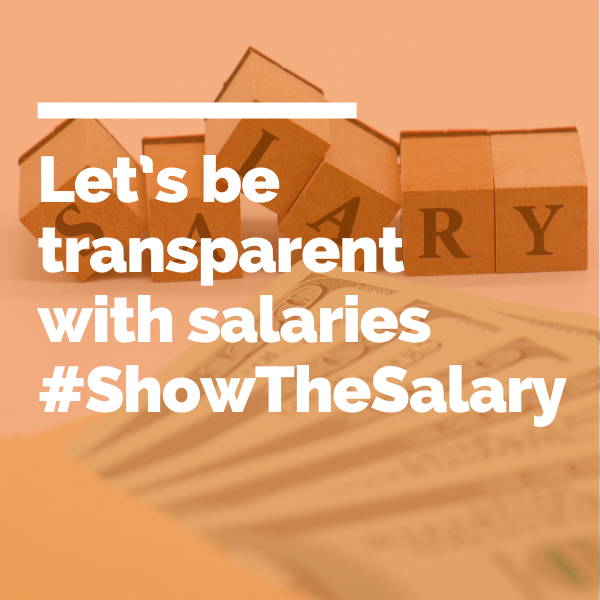 Let's be transparent with Salaries #ShowTheSalary featured img